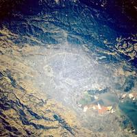 Satellite Image in 1994 of San Jose, California