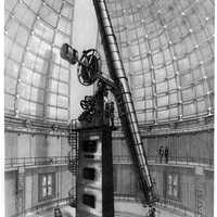 The Great Lick 91-centimeter refractor telescope in San Jose, California