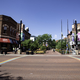 Downtown streets in Boulder, Colorado