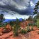 Skies over the Garden at Garden of the Gods, Colorado
