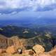 Cloudy Skies at Pikes Peak, Colorado