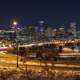 Night time Skyline of Denver, Colorado