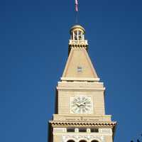 The Clock Tower in Denver, Colorado