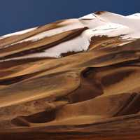 Snow-capped Sand Dune