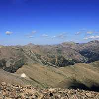 Many Mountains at Mount Elbert, Colorado