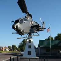 AH-1 Cobra at VFW in Burlington, Colorado