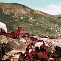 Battle Mountain mines, Cripple Creek in 1898 in Colorado