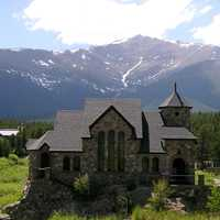 Chapel on the Rock at Camp Saint Malo in Colorado