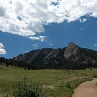 Chautauqua park around Boulder, Colorado