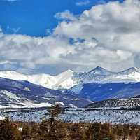Colorado Rocky Mountains Scenery skyline