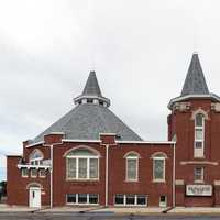 The First Baptist Church in La Junta, Colorado.