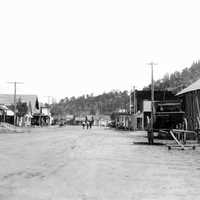 Main Street in 1912 in Estes Park, Colorado