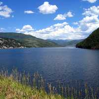 Ruedi Reservoir landscape in Basalt, Colorado