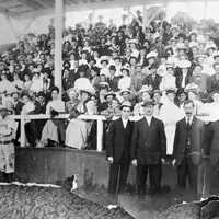 September 1907 prior to the final game of a three-game series between Denver and Trinidad