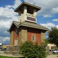 Tower of Pagosa Springs in Colorado