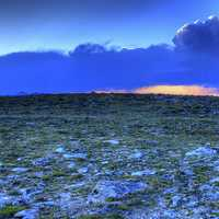 Arctic Tundra Sunset at Rocky Mountains National Park, Colorado