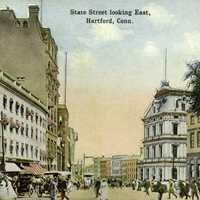 State Street in 1914 in Hartford, Connecticut