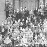 1911 Student Body of the Hopkins School in New Haven, Connecticut