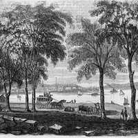 Art of New London, Connecticut in 1854