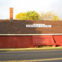 Burroughs Cider Mill in Connecticut