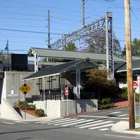 Milford Metro North Rail Station in Connecticut