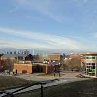 View of the University of Connecticut in Storrs