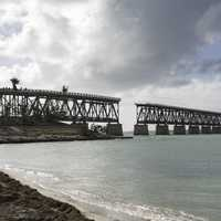Broken Overseas Bridge in Bahia Honda State Park