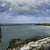 Overview of the Overseas Highway and Beach