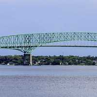 Hart Bridge in Jacksonville, Florida