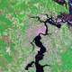 Satellite Image of Jacksonville, Florida