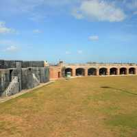 Fort Zachary Taylor at Key West, Florida