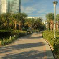 Beachwalk at Miami, Florida