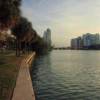 View of the river at Miami, Florida