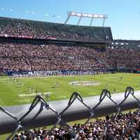 Field during the inaugural C-USA Championship Game in 2005 in camping world stadium, Orlando, Florida