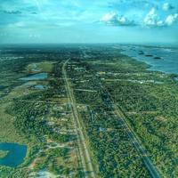 Aerial View of US highway 1 near homestead
