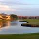 Golf Course landscape in Florida