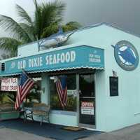Old Dixie Seafood Market in Boca Raton, Florida