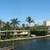 Panoramic view of a portion of the Intracoastal Waterway in downtown Boca Raton, Florida