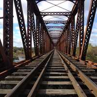 Railtracks and Bridge in Florida