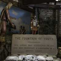 Sign for the Fountain of Youth
