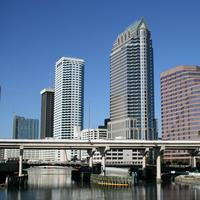 Downtown skyline in Tampa, Florida