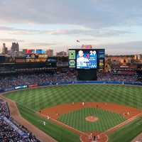 Turner Field in Atlanta, Georgia, baseball diamond