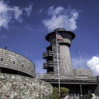 Brasstown Bald Tower in Chattahooche-Oconee National Forest, Georgia