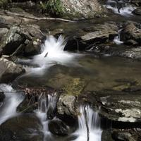 Cascading River and stream in Chattahooche-Oconee National Forest, Georgia