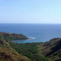 Cetti Bay landscape in Guam