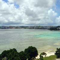 City Towers on the coastline in Guam