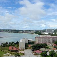 Tumon Bay Resort and seaside in Guam