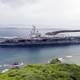 USS Ronald Reagan Aircraft Carrier in Guam