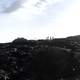 Panoramic View of Lava field in Hawaii Volcanoes National Park