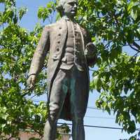 Captain James Cook Statue in Waimea, Hawaii